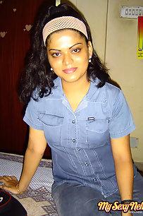 Lusty Neha Nair Blue Jeans Teasing Hubby
