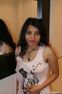 Horny Kavya Sharma Bedroom Getting Naked