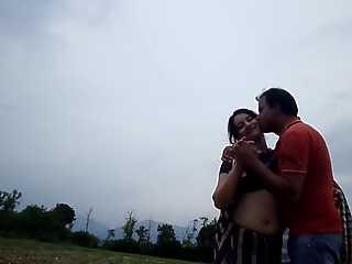 Indian Couple Romance Outdoor Sex