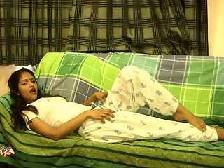 Divya Hot Indian Babe In Lounge Naked
