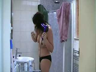 Indian Hot Babe Jignisha Bathroom Naked