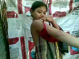 Indian Seductive Teen Taking Outdoor Shower