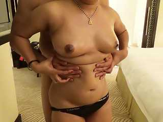 Indian Wife In Black Panty Fucked