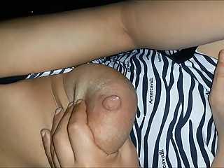 Milky Indian Boob Sucked