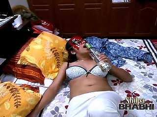 Horny Shilpa Bhabhi Drunk And Fucked